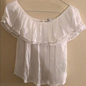 White short sleeve Hollister Top